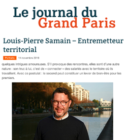 Article de presse Le Journal du grand Paris